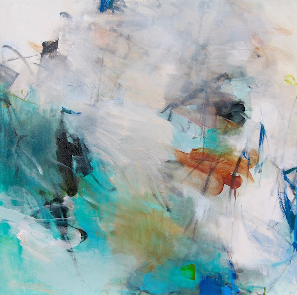 Charlotte Foust - dynamic, colorful abstract paintings